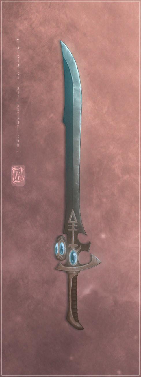 Eldar Blade Concept - I by Aikurisu