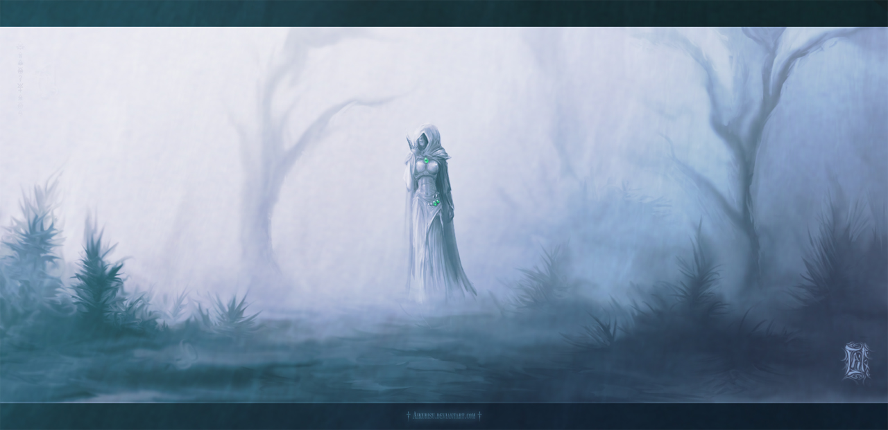Misty Path by Aikurisu
