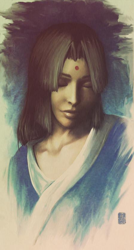 Moegi - Portrait by Aikurisu