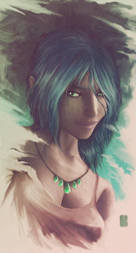 Zuri - Portrait by Aikurisu