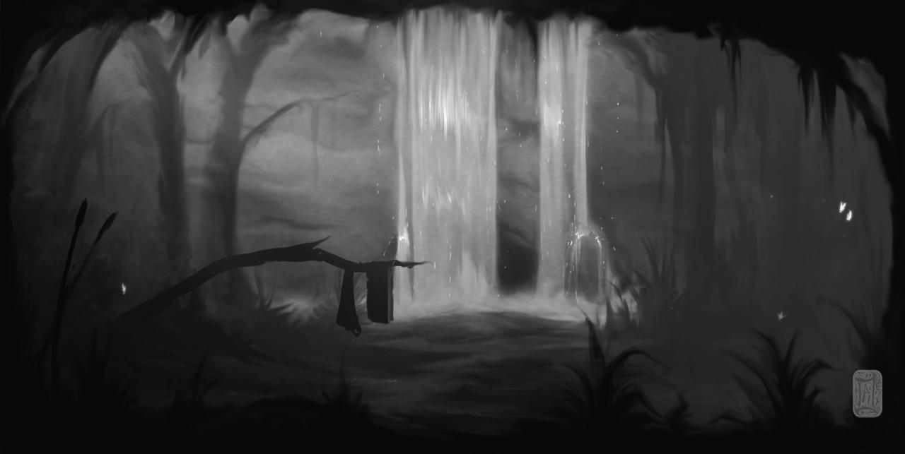 The Waterfall by Aikurisu