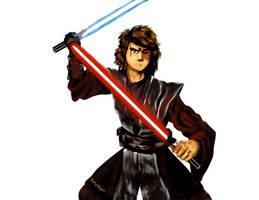 Zuko as Anakin Skywalker.