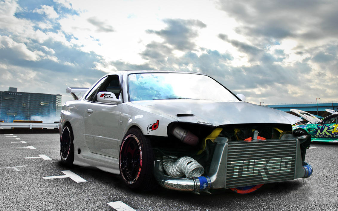 concepts car and skyline - photo #14