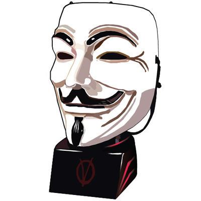 V For Vendetta Mask Vector V for Vendetta ...