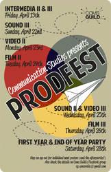 PRODFEST 2012 poster