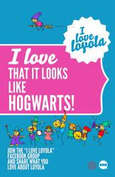 I Love Loyola - Hogwarts
