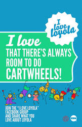 I Love Loyola - Cartwheels
