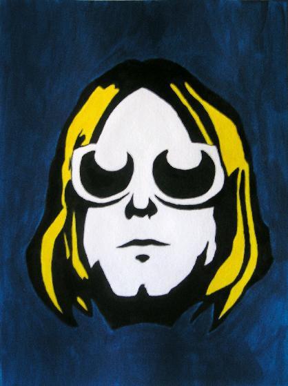Kurt Cobain by iheartmanga