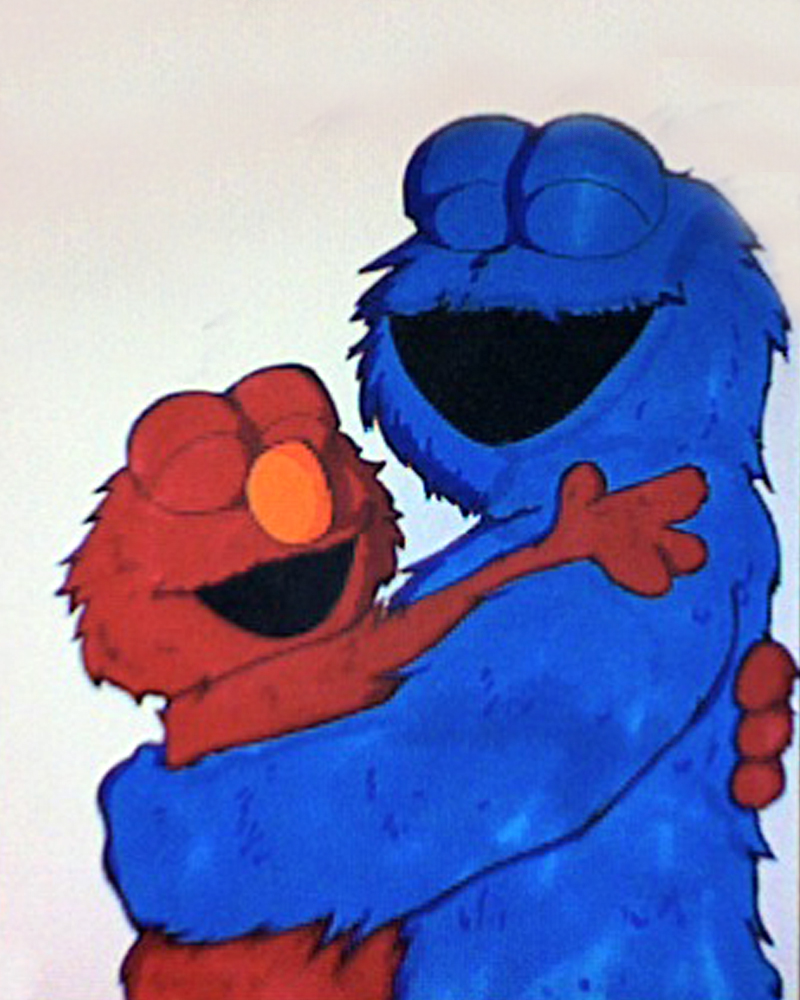 Best Friends - Cookie and Elmo by BethanyAngelstar on DeviantArt