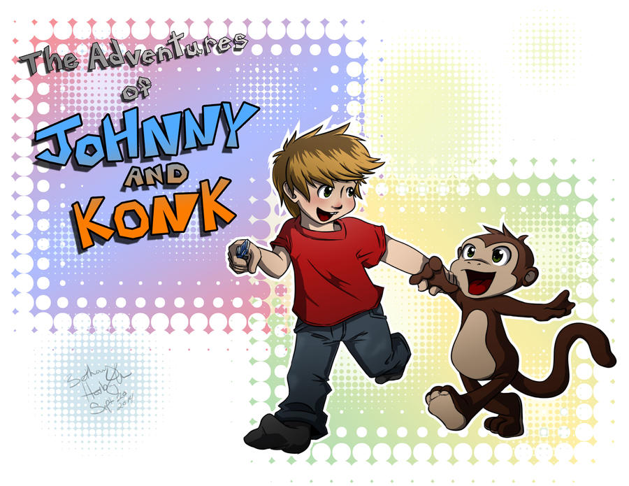 The Adventures of Johnny and Konk by BethanyAngelstar