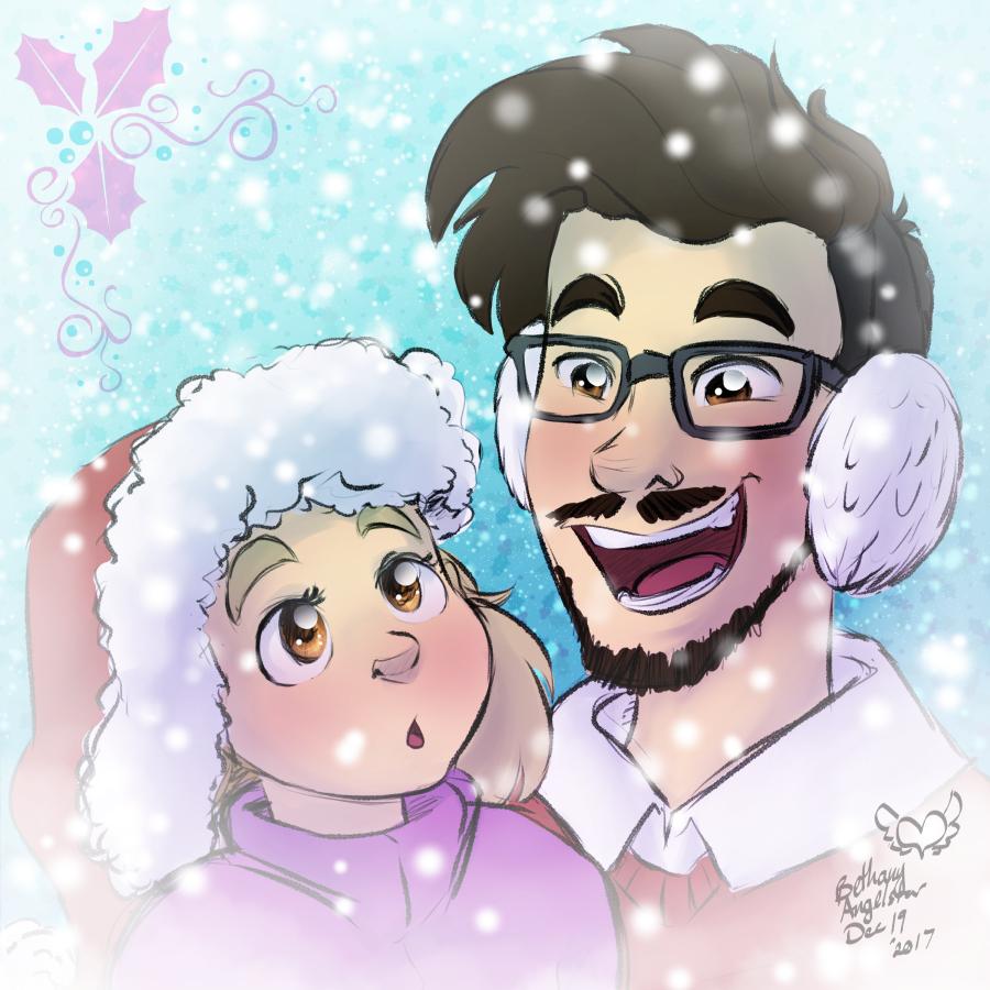 Merry Christmas Markiplier by BethanyAngelstar