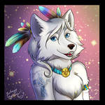 Native Wolf Avatar - Gift