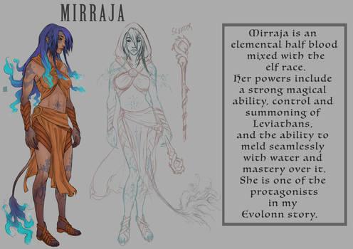 Mirraja (2017) Character Ref Sheet