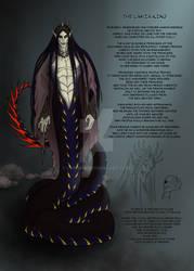 The Lamia King Concept Art (2020) by LAN0RA