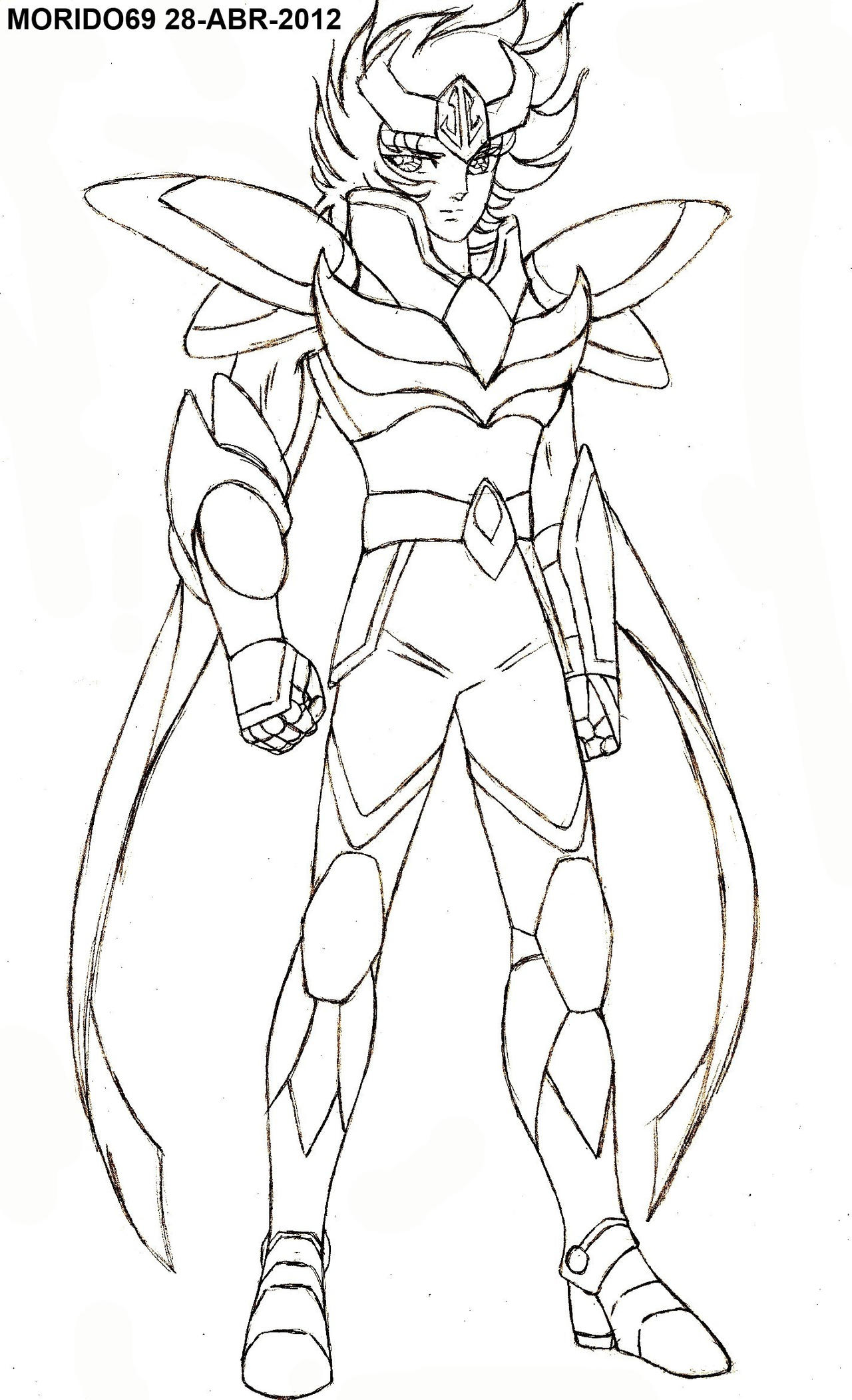Fine Saint Seiya Coloring Pages Picture Collection - Best Coloring ...