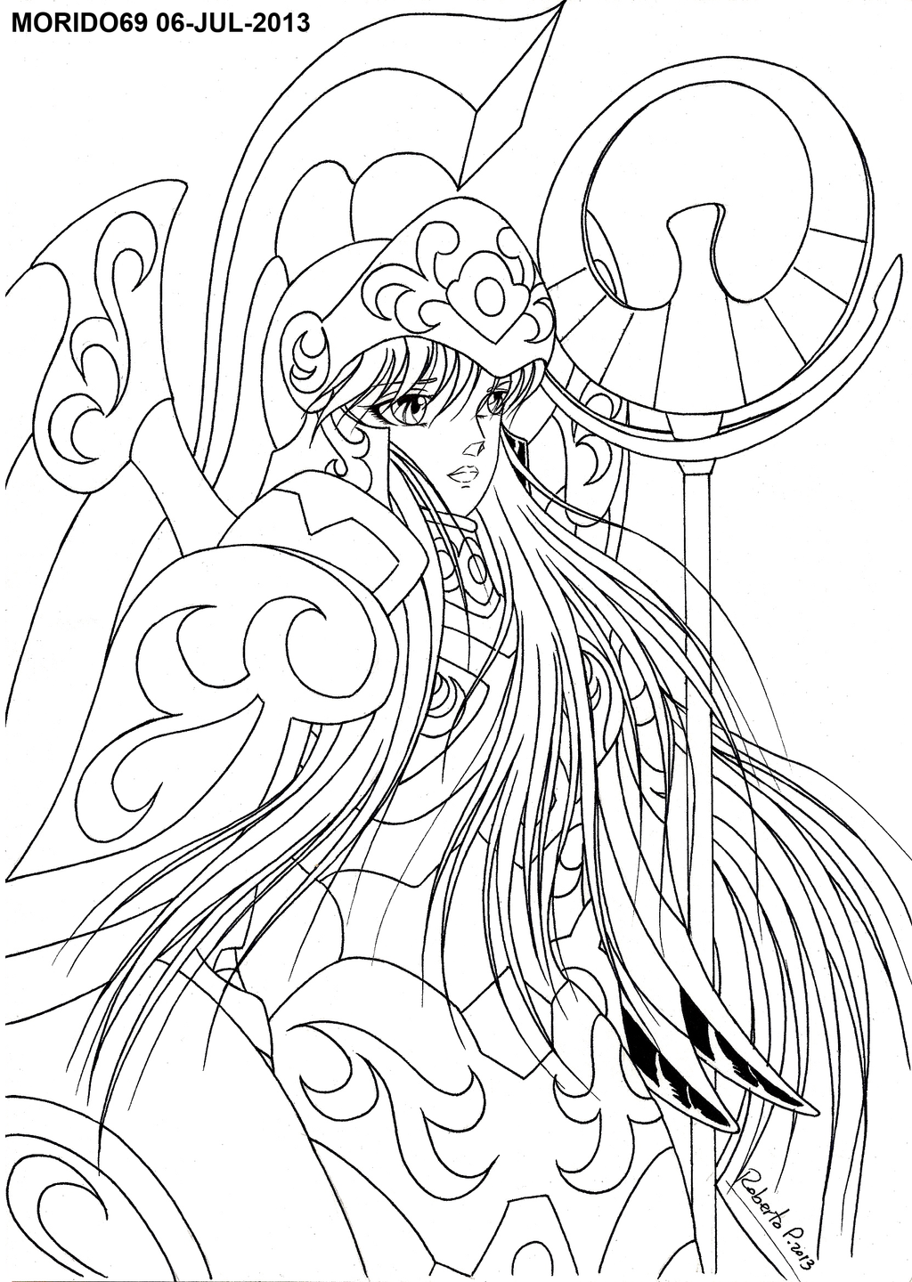 Dorable Saint Seiya Coloring Pages Motif - Examples Professional ...