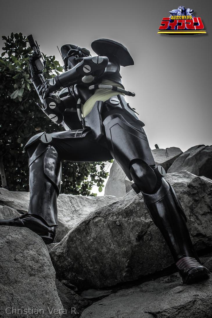 GUARDNOID GASH ROBOT-CHOJU SENTAI LIVEMAN by MUERTITO69