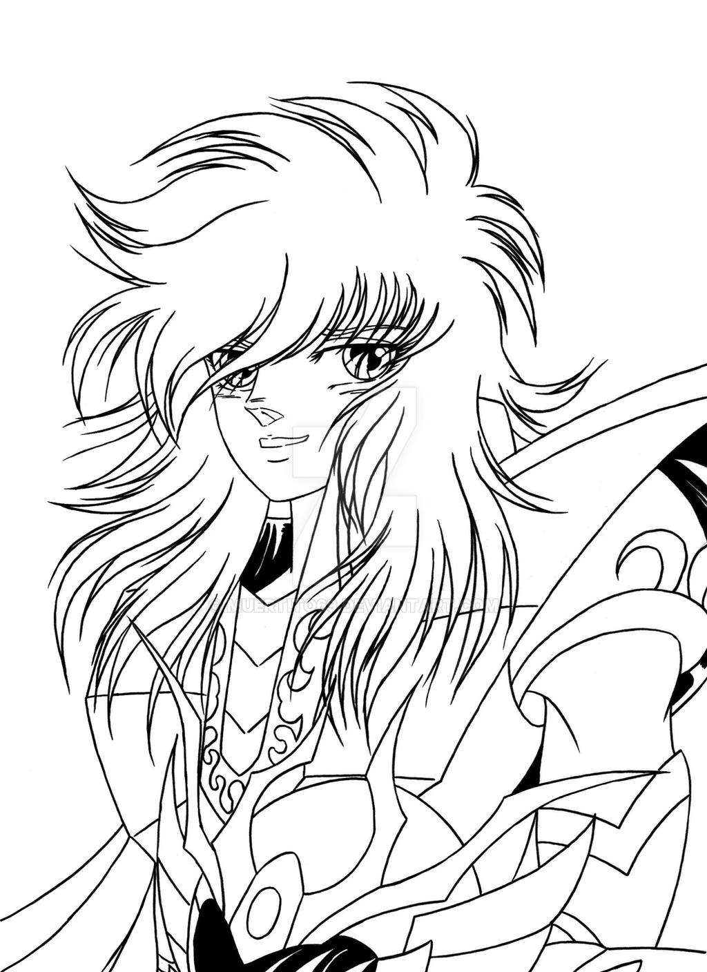 Athena Coloring Pages - How to draw KOF billy Kane