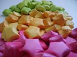 origami stars by billihugs