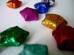glitter stars by billihugs