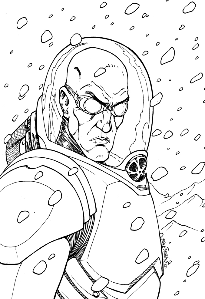 Mr. Freeze by BenSteamroller