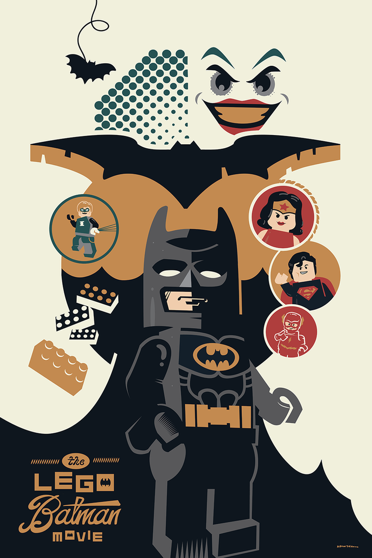 The LEGO Batman Movie by Jurassickevin