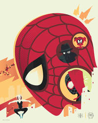 Spider-Man: Into the Spider-Verse (Variant) by Jurassickevin