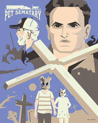 Pet Sematary 2019 Poster by Jurassickevin