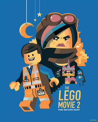 The Lego Movie: The Second Part by Jurassickevin