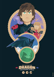 How to Train Your Dragon: The Hidden World by Jurassickevin