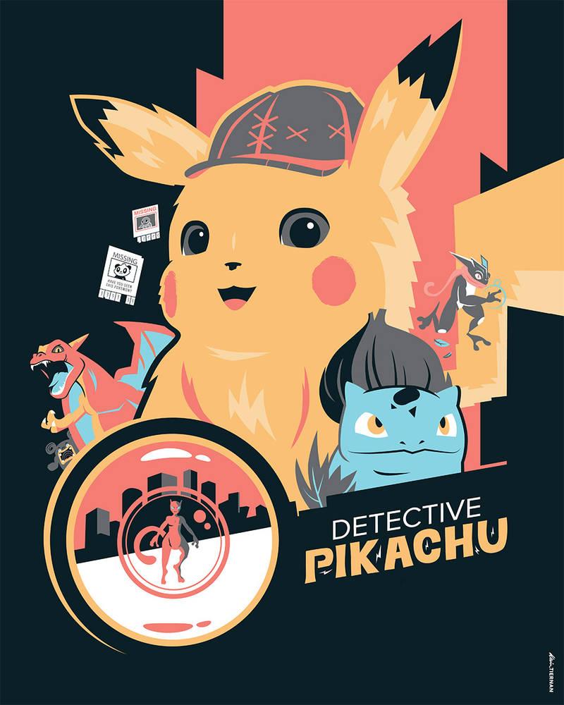 Pokemon: Detective Pikachu by Jurassickevin