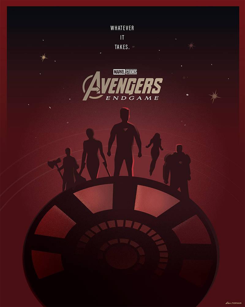 Avengers: Endgame (Iron Man) by Jurassickevin