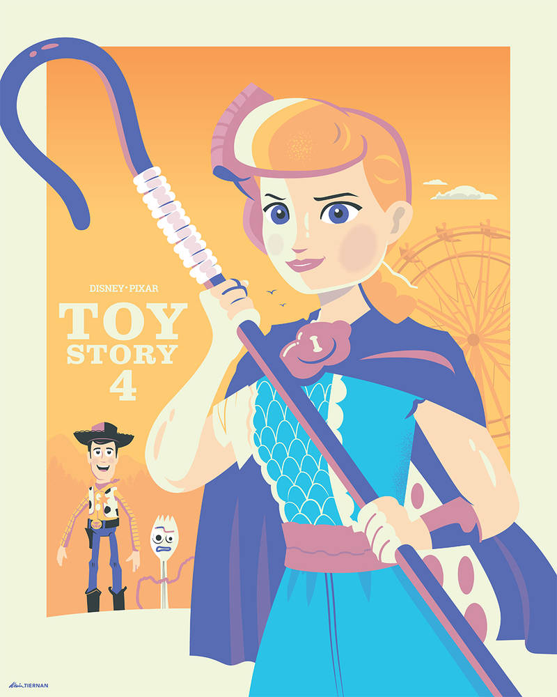 Toy Story 4: Bo Peep to the Rescue by Jurassickevin