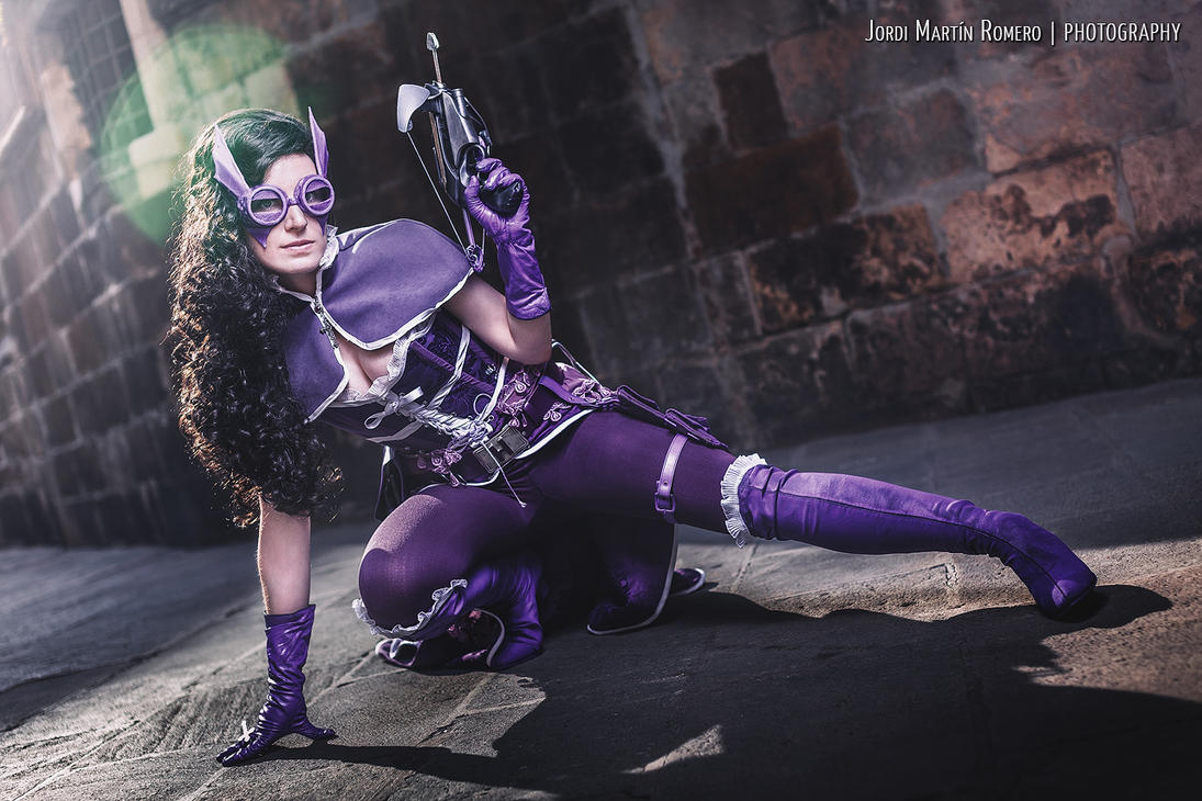victoriansteampunk huntress cosplay by entropycosplay on
