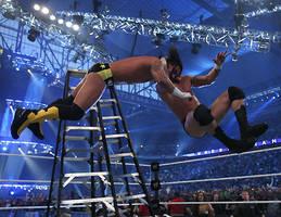 RKO ON CM PUNK OFF THE LADDER by RKO-RULES