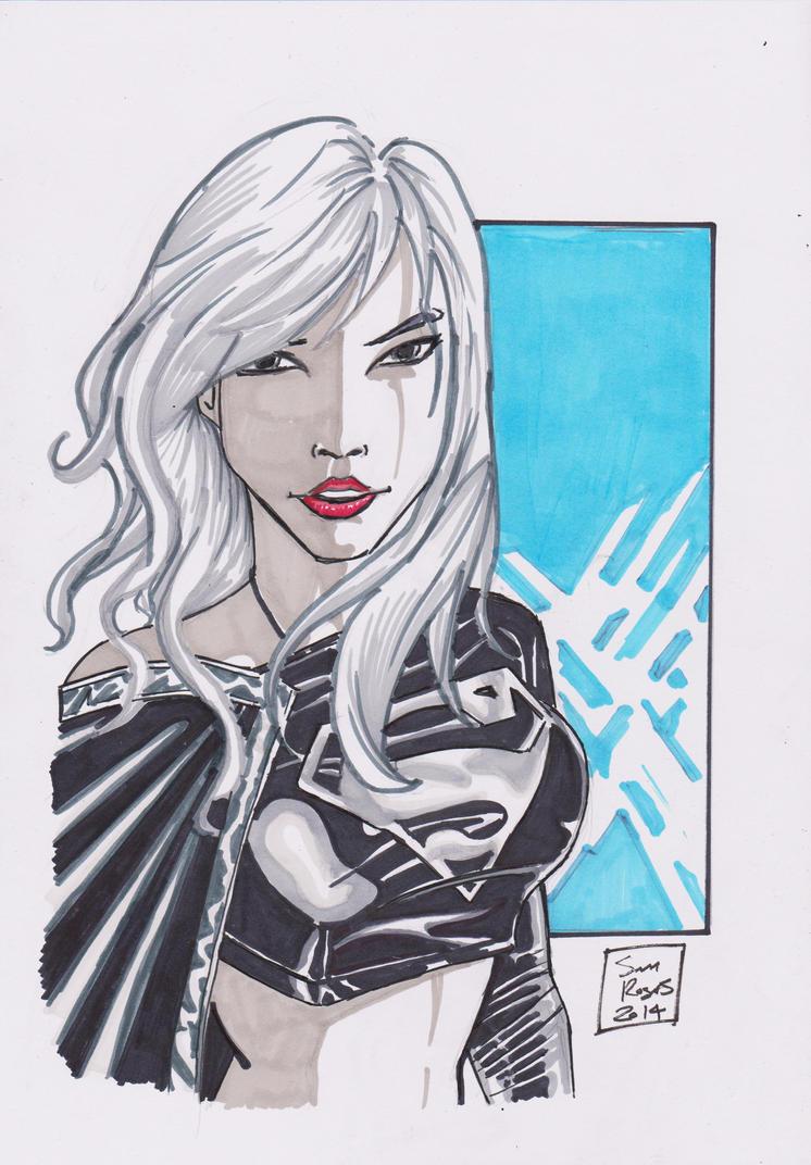dark supergirl wallpaper - photo #27