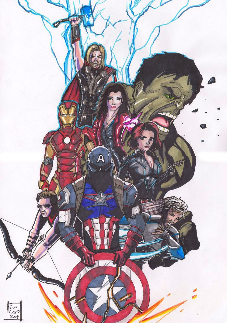 Avengers Age Of Ultron By Iloegbunam On Deviantart: Avengers Age Of Ultron By Samrogers On DeviantArt