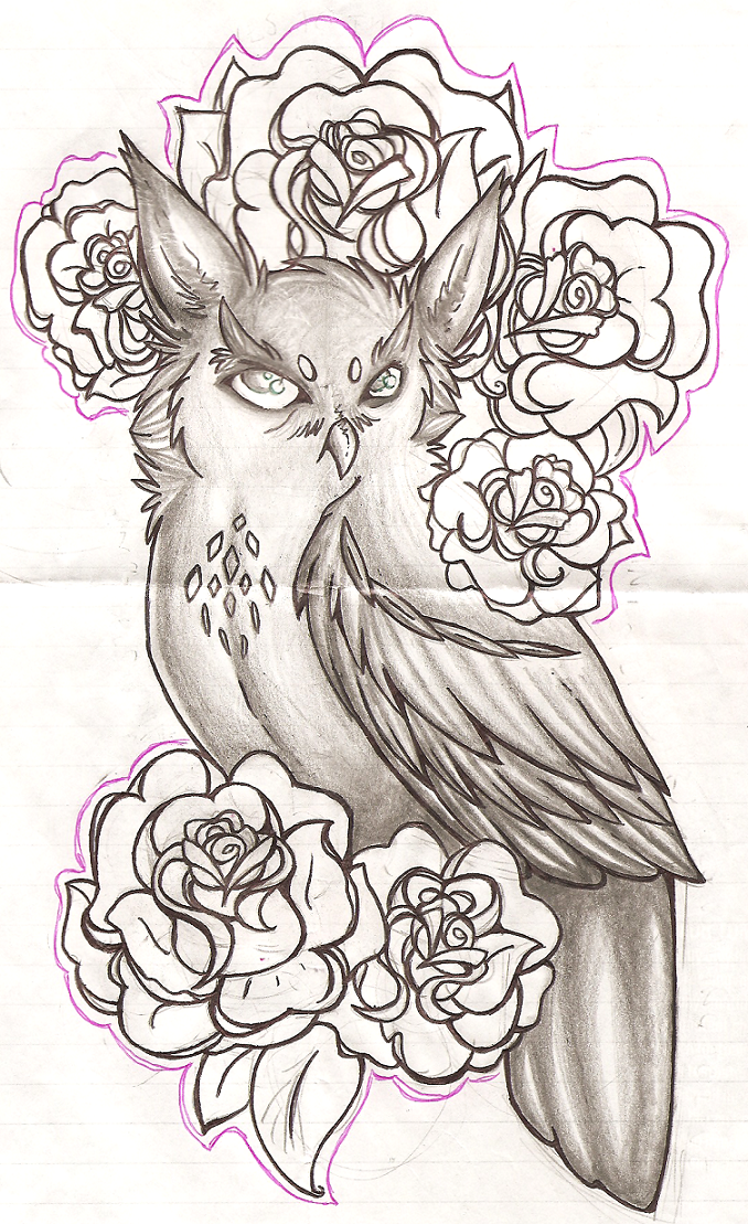 Owl Tattoo Design Picture 3