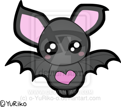Cute Halloween Bat Drawings Wallpapers Cute bat by o YuRiko o