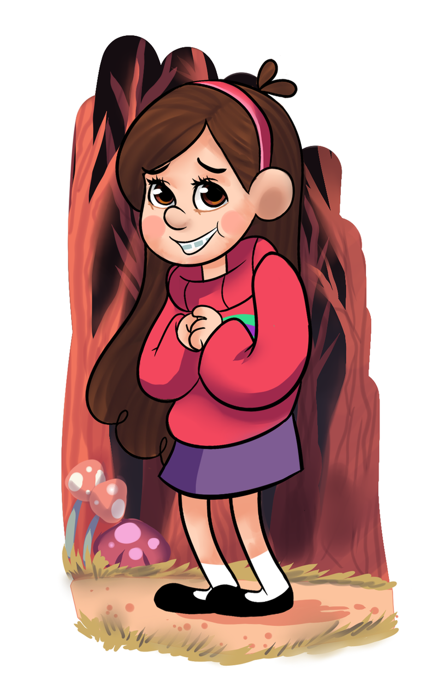 Gravity Falls: Mabel Pines by AninhaT-T