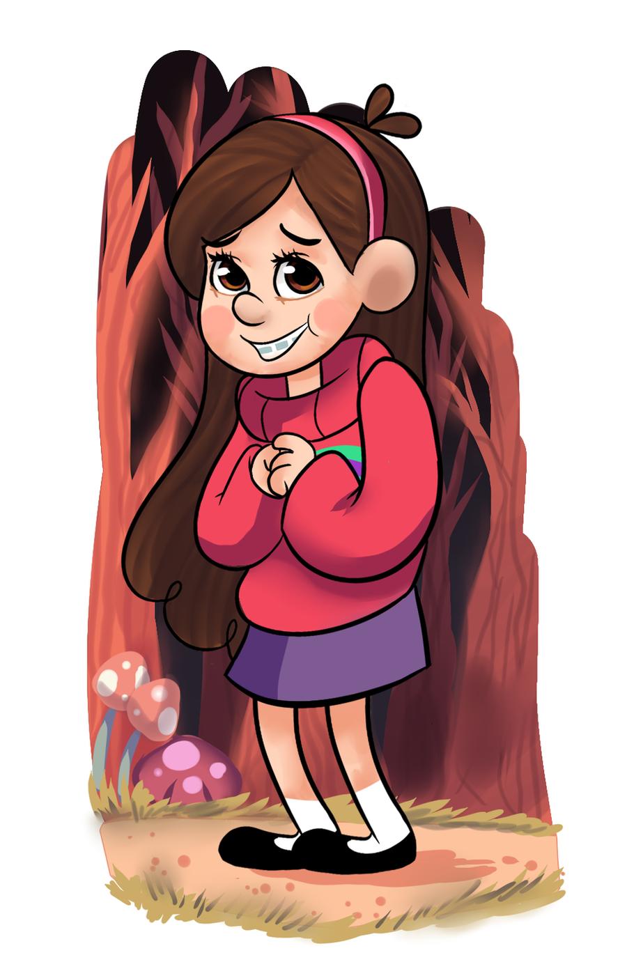Gravity Falls: Mabel Pines by AninhaT-T