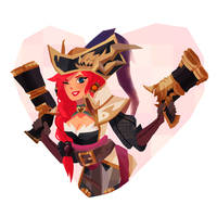 Captain Miss Fortune by AninhaT-T