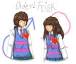 Older!Frisk (Undertale)