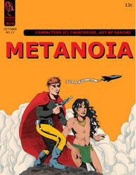 Metanoia a la Flash Gordon by Sanomi