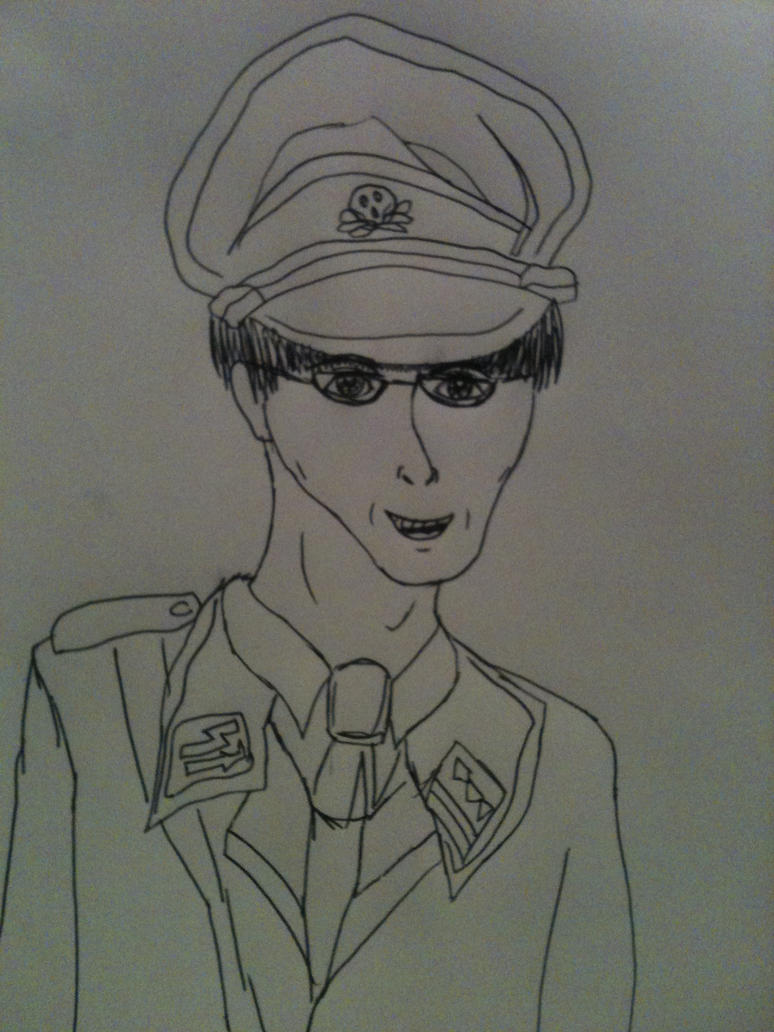 Request mandark in nazi style uniform by KatrinWinner