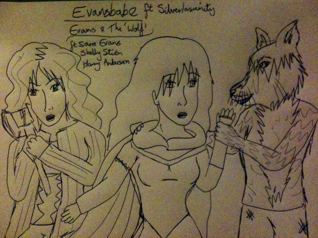 Evansbabe - Evans and the wolf by KatrinWinner