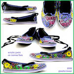 handpainted shoes IV