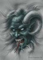 Wind Demon by arcaneserpent