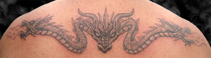 Dragon Tattoo by arcaneserpent