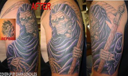 Reaper cover-up by arcaneserpent